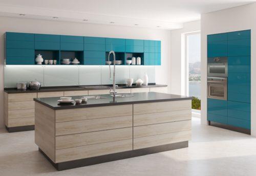 עיצוב מטבחים דגם מעוצב מודרני מיוחד