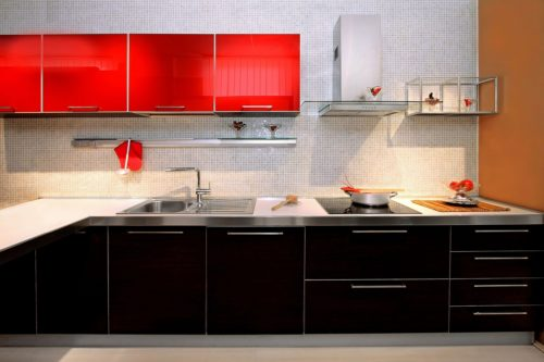 עיצוב מטבחים דגם זיו ססגוני מבית